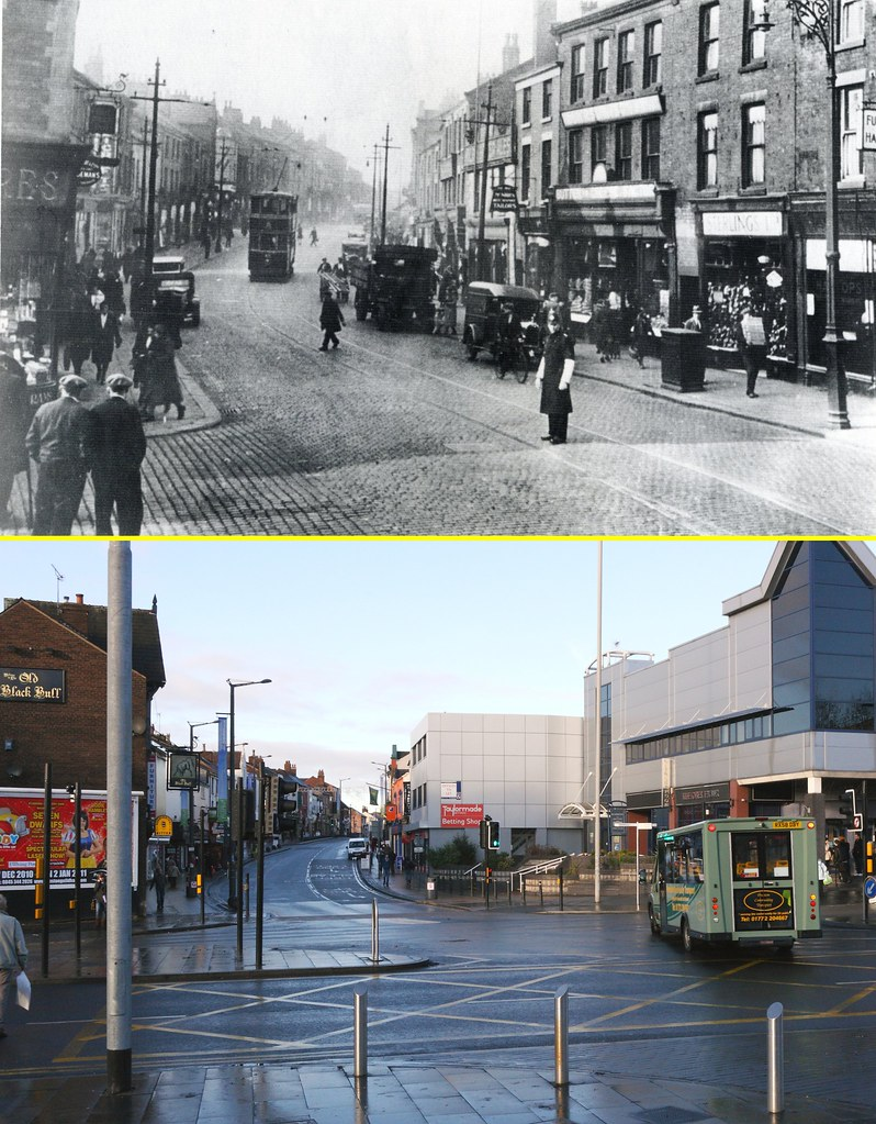 Image result for preston then and now