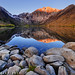 Alpenglow at Convict Lake by James Neeley