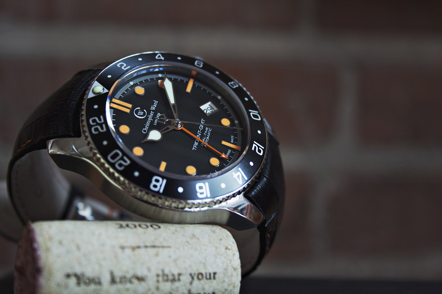 Christopher Ward, British Watch Brands, Black Dial, Sleek