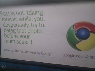Google Chrome Ad about deleting stuff | by codepo8