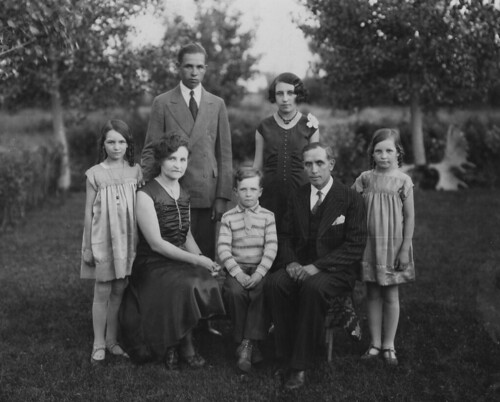 A photo of my Grandfather & family