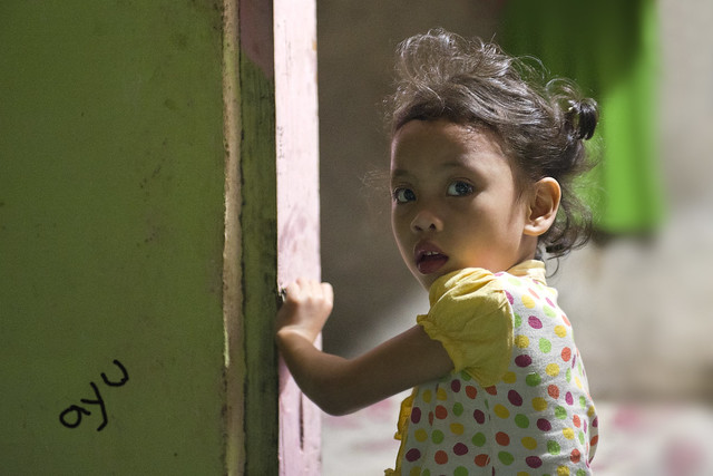 Makassar, South Sulawesi - 6 year old Ayu. A new member of my shelter home in Bali
