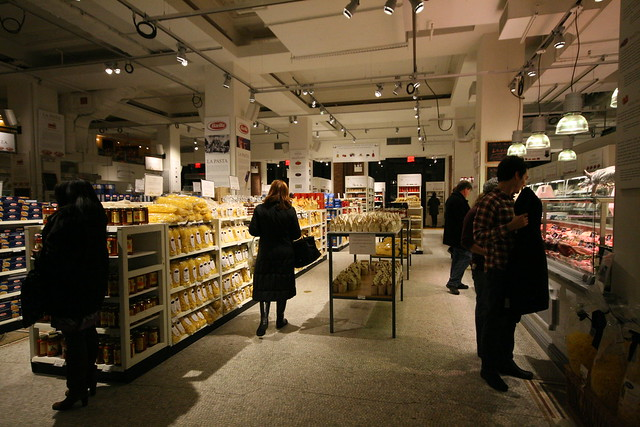 Pasta department, Eataly NYC