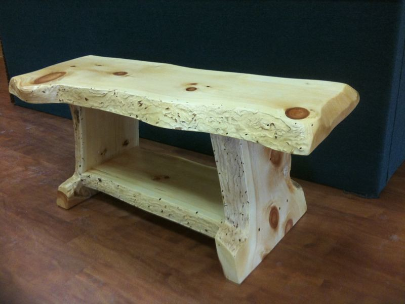 Rustic Bench Coffee Table Rustic Pine Bench Coffee Table Flickr