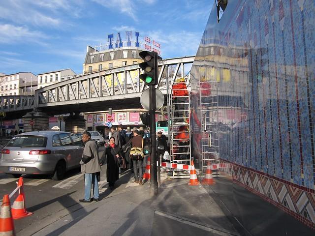 Décoration des palissades janvier 2011
