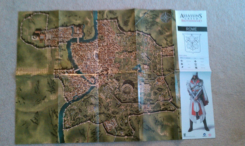 Assassin S Creed Brotherhood Map Ryan Flickr