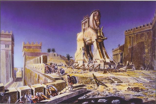 +1900 el caballo de Troya