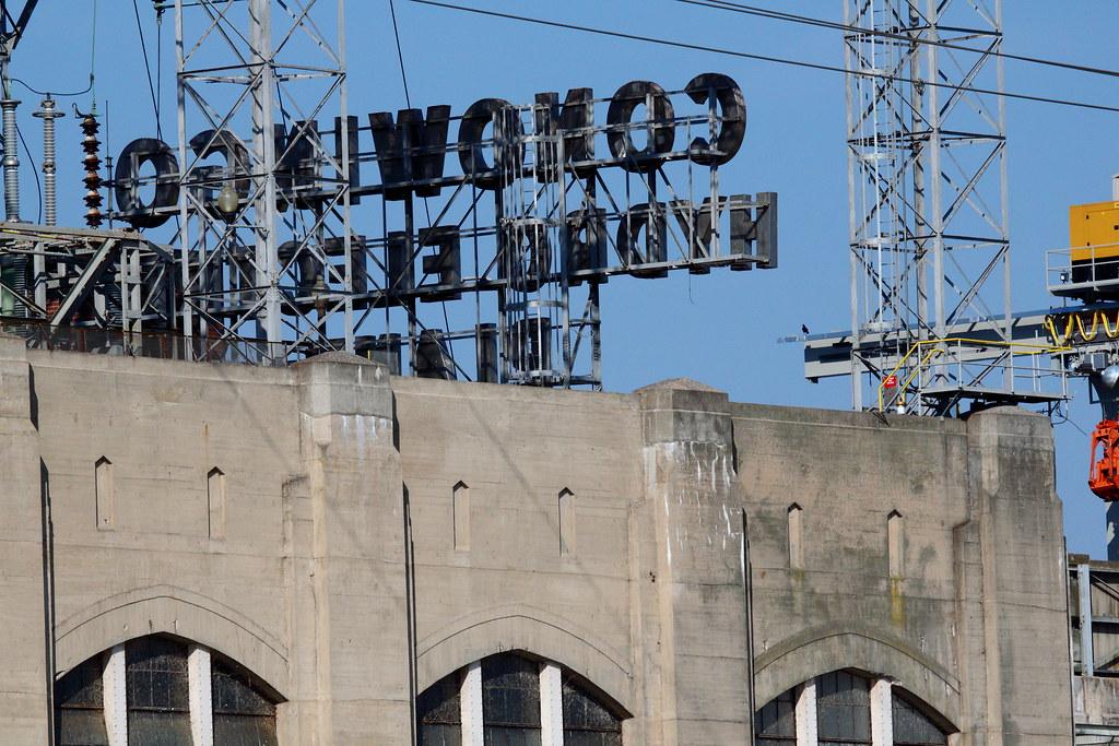 Conowingo Dam Sign
