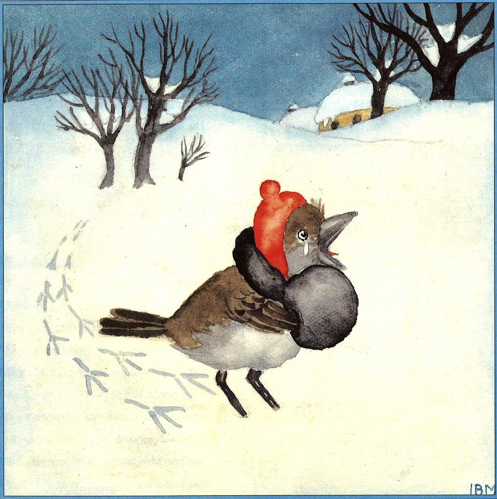Weihnachten Animation.Weihnachten Mit Ida Bohatta Bild 01 Weihnachten Mit Ida Flickr