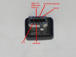 Nikon D90 10 Pin Connector Pinout (Front) | by Daniel J. Grinkevich