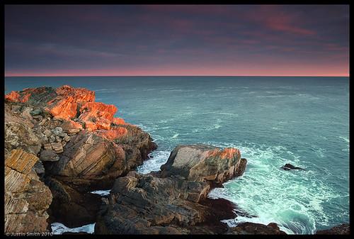 ocean sunset beach water rocks massachusetts nikond50 justinsmith nahantma leefilters nikon1735mmf28 singhrayfilters