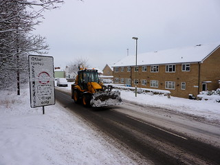 Snow plow going to work | by allispossible.org.uk