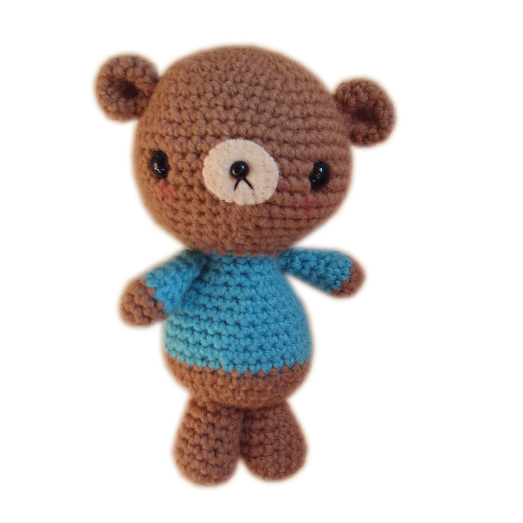 Crochet Bear PATTERN - Lucas the Teddy - Classic Teddy Bear ... | 1024x1024