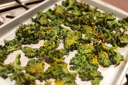 Finished kale   by pigsinpajamas