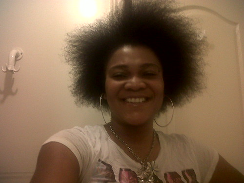Blow out afro   by Thirsty Roots