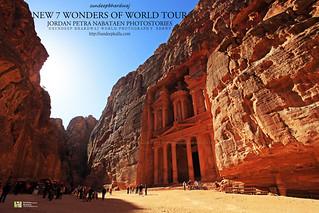 PETRA JORDAN NEW 7 WONDERS OF WORLD TOUR NABATAEN PHOTOSTORIES 1911 AWFJ | by SDB Fine Art Travel of 2 Decades to 555+ Places Ph