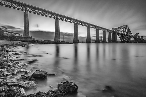 Forth Bridges Mono LE | by Christopher Combe Photography