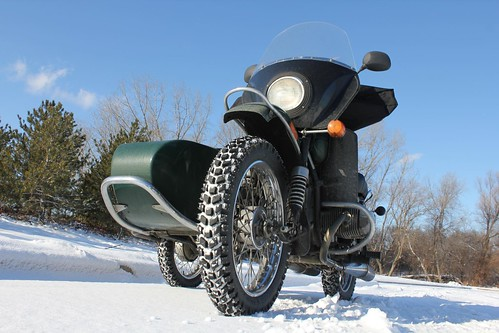 Snowy Thanksgiving Day Ride 2010 with the Ural | by chrisluhman