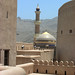 Nizwa, Velká mešita z pevnosti, foto: Petr Nejedlý