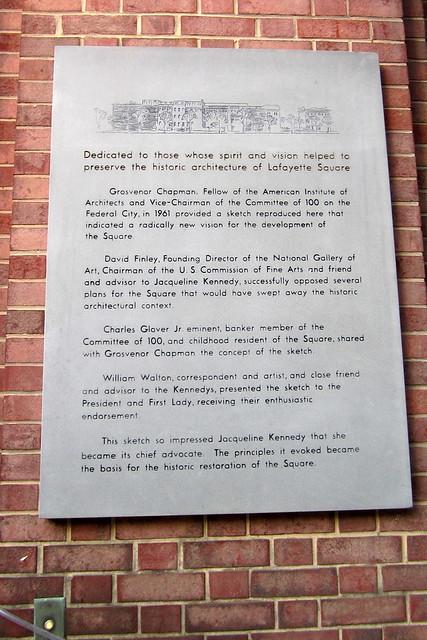 Washington DC: Restoration of Jackson Place and Lafayette Place