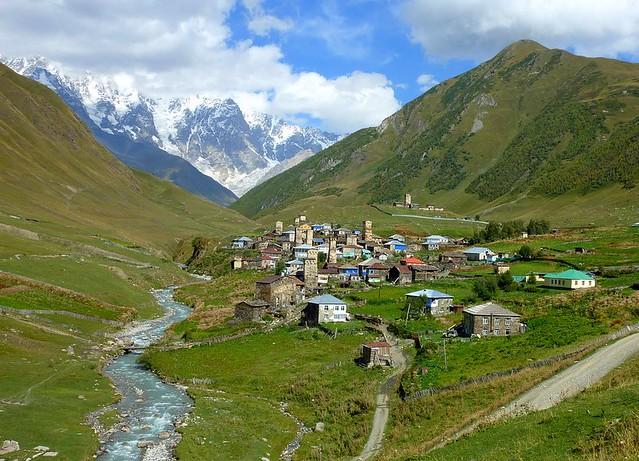 Ushguli in Svaneti, Georgia