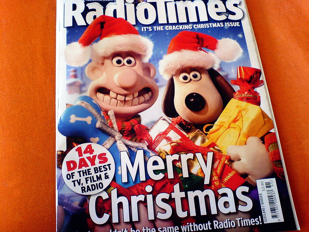 Radio Times Christmas TV Guide | A seasonal survival kit  Ch… | Flickr