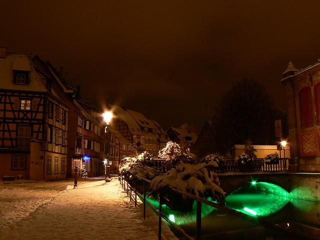 Colmar sous la neige...by night  (3)