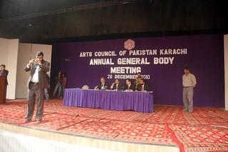 Election Artcs Council 2011 Karachi Pakistan  photo by sajjad