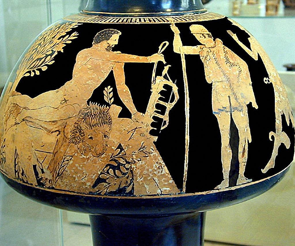 -0465 Heracles en la pira y Filoctetes