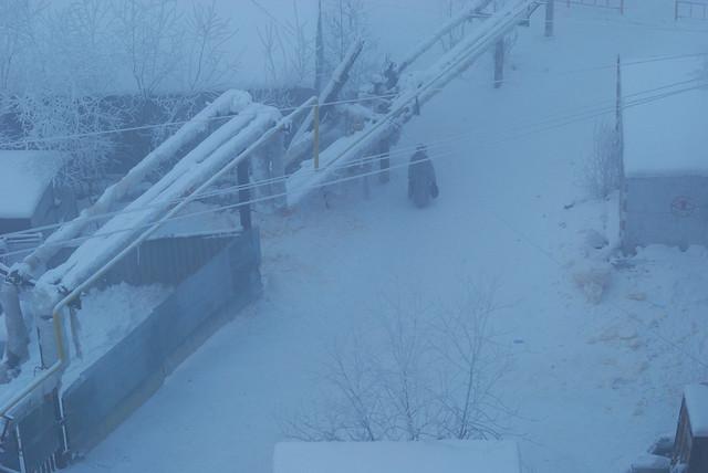 Russie: Sibérie, Iakoutie en hiver