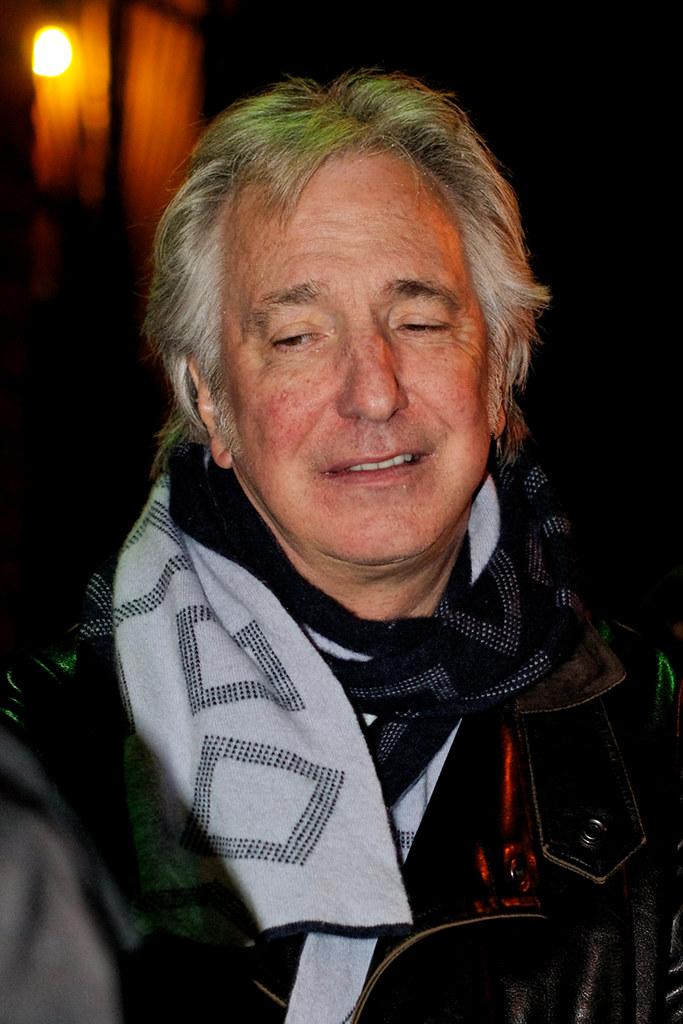 Zemřel herec Alan Rickman, profesor Snape z Harryho