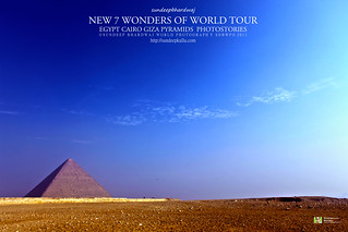 PYRAMIDS GIZA CAIRO EGYPT GIZA PYRAMIDS COMPLEX NEW 7 WONDERS OF WORLD TOUR PHOTOSTORIES  5289 AWFJ | by SDB Fine Art Travel of 2 Decades to 555+ Places Ph