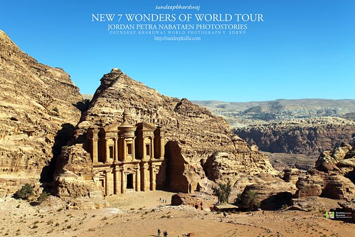 PETRA JORDAN NEW 7 WONDERS OF WORLD TOUR MONASTRY NABATAEN PHOTOSTORIES 2351 AWFJ | by SDB Fine Art Travel of 2 Decades to 555+ Places Ph