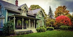 Yerkes House in the Fall