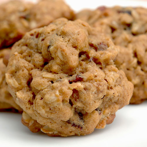 Oatmeal, Cranberry and Pecan Spice Cookies   by carriecarbajal