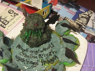 Cthulhu cake | by artnoose