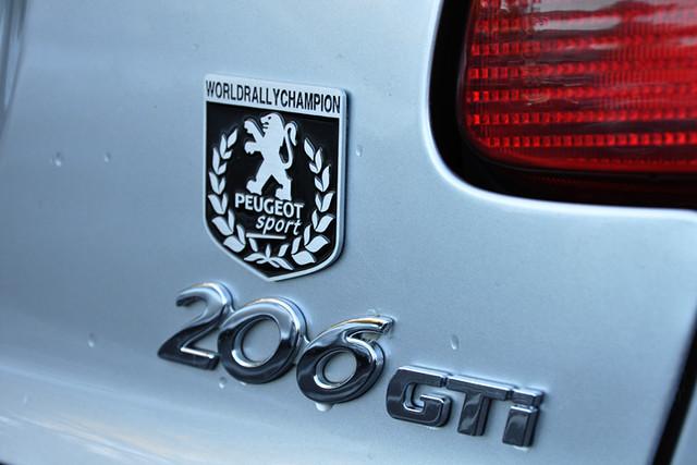 206 badge
