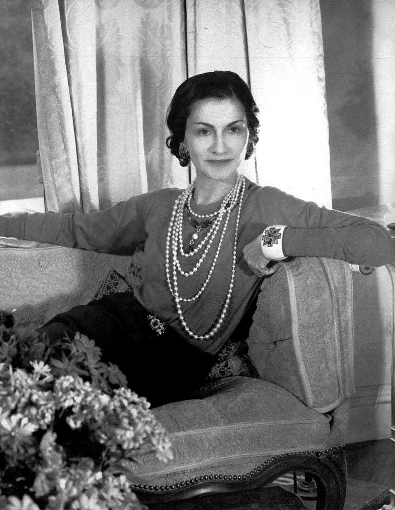 Coco Chanel The French Fashion Designer Coco Chanel Photog Flickr