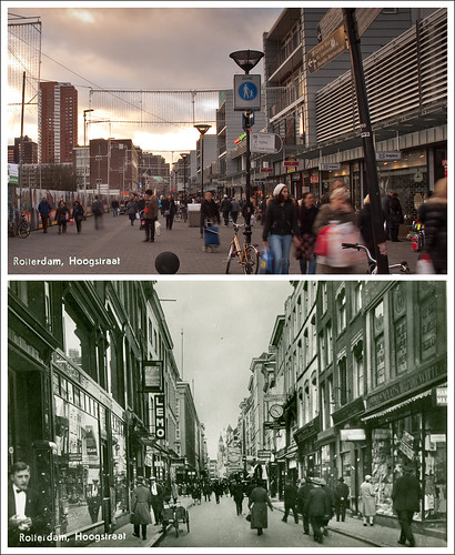 Rotterdam, Hoogstraat 1930   2010