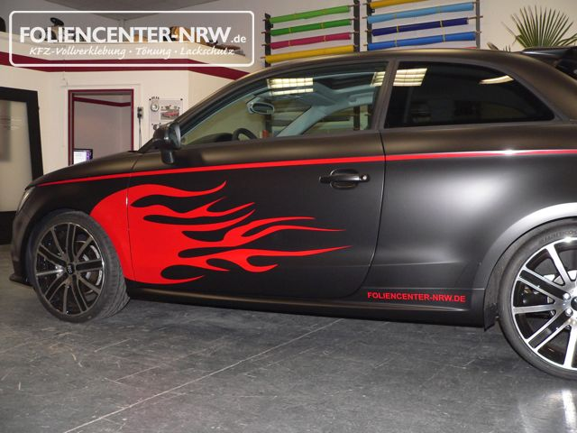 Audi A1-mattschwarz-folie statt lack_014
