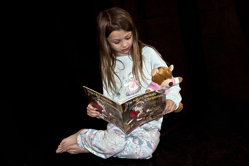 Child Reading with Teddy Bear | by Jenn Durfey