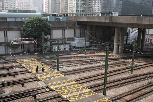 Track fan outside Tsuen Wan depot