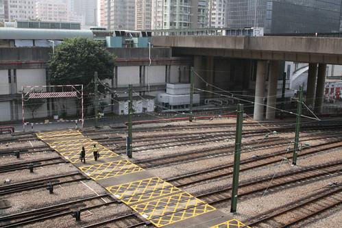 Track fan outside Tsuen Wan depot