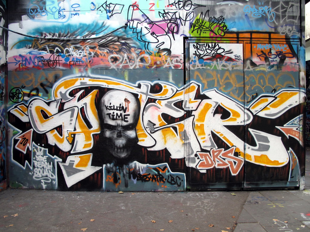 Dope reach squad graffiti by duncan
