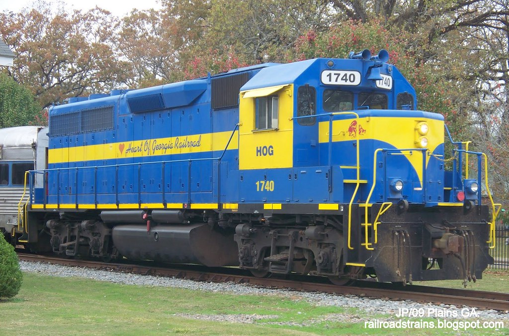 HOG 1740 Heart of Georgia Railroad,Plains by John Pluta