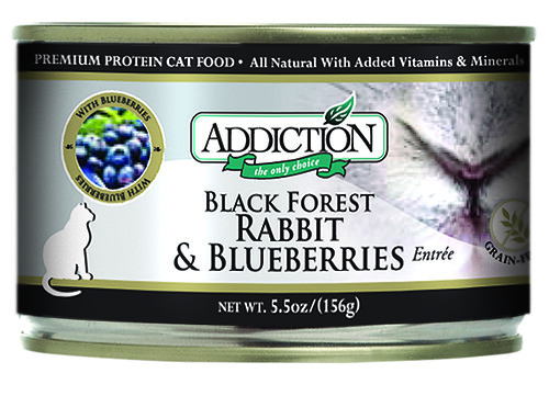 ADDICTION DOG FOOD RABBIT AND BLUEBERRIES HYPOALLERGENIC | by yourholisticpet