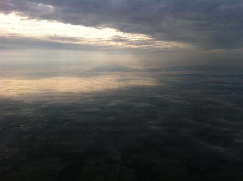 morning sky cloud sunrise jogja