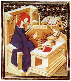 Christine de Pizan in Her Studies 7 | by Cea.