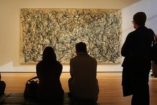 People Looking at Paintings | by peteaylward