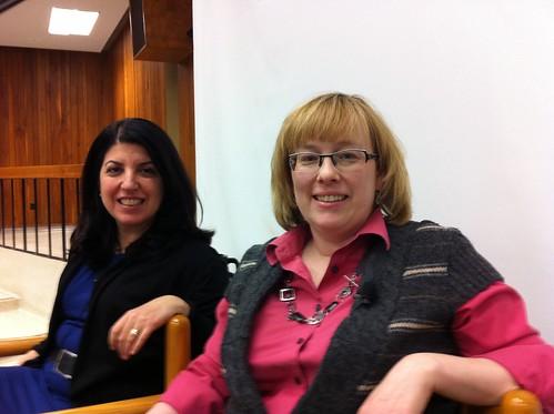 At Ivey School - Connie & Eden